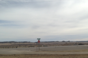 Melstone Montana on Highway 12